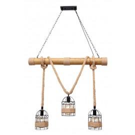 Lámpara cuerda 3l cáñamo