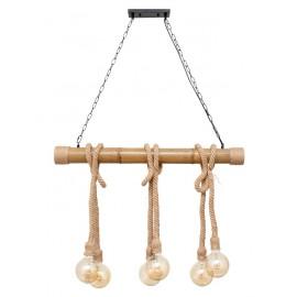 Lámpara rustica Soga 6l