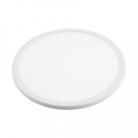 Lámpara dowlight led ajustable blanco redondo