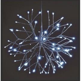 Estrella de 120 Leds Navidad 50 cm
