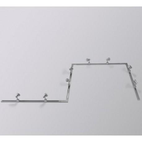 Conector riel gris Masta