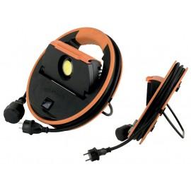 Lámpara proyector trabajo 50 w led magnetico con manguera