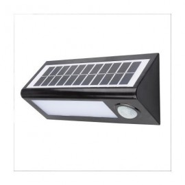 Lampara Aplique Solar 8w Led con placa solar