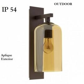 Lampara aplique pared exterior Braille IP54