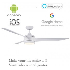 Lampara ventilador led rahu IOT 18 w Smart