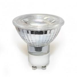 Bombilla GU10 6.5 w led regulable cob