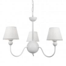 Lámpara de araña 3 luces trisca blanca