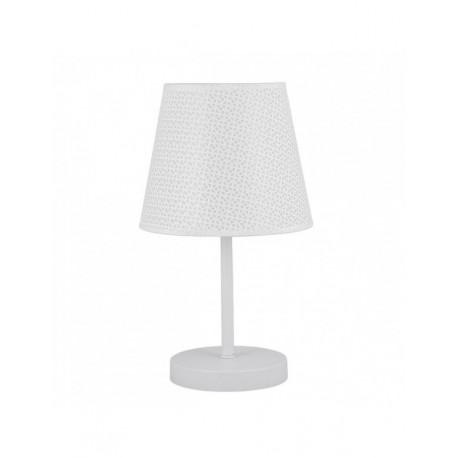 Lámpara de sobremesa 1 luz Trisca blanca