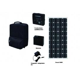 Kit energia solar portatil 1 x 80 w