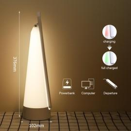 Lámpara flexo 7w led portatil + rgb