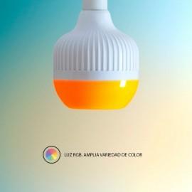 Bombilla Musical Led Colores 7 w RGB Bluetooth