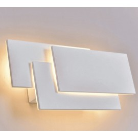 Lámpara aplique 15 w led rectangulos