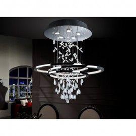 Lámpara de techo Led bruma (5gu10 7w +tira led 68 w)
