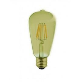 Bombilla edison led vintage ambar 4 w