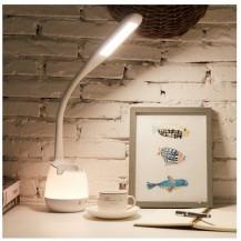 Lámpara flexo estudio 5w led RGB con cubilete