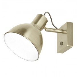 Lámpara aplique pared orientable interruptor Factor