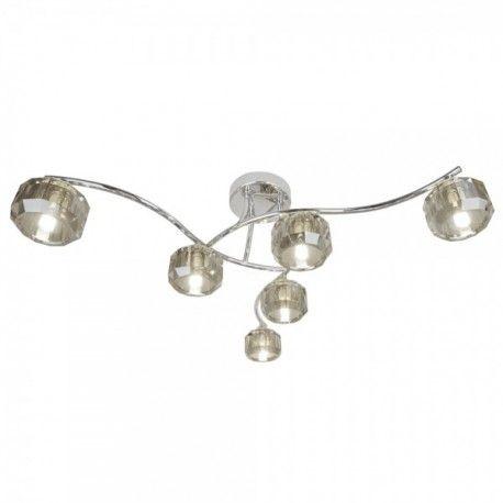 Plafón de techo Astrid 6 luces