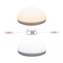 Lámpara de mesa 1w led portátil regulable