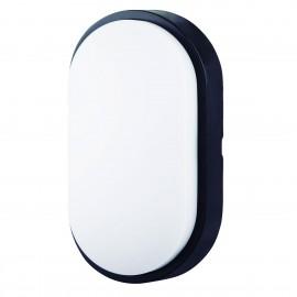 Lámpara aplique exterior 14 w led oval IP54