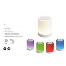 Lámpara portatil led Chania RGB colores y musical