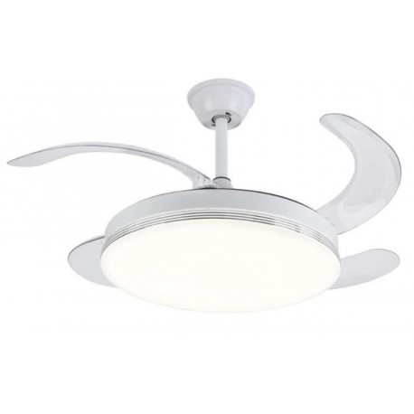 Lámpara ventilador 36x2 w led 7087 pala plegable