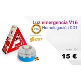 Luz de Emergencia V16 Homologada por la DGT