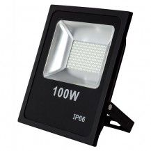 Proyector Led 100 w quiron negro 3000k