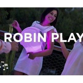 Lampara exterior musical ROBIN