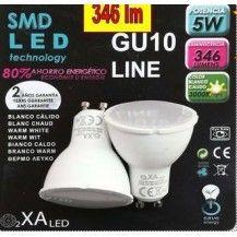 BLISTER 2 GU10 5W LED
