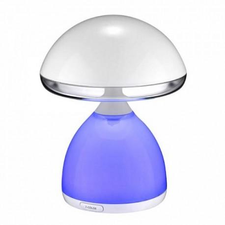 Lámpara de sobremesa Mush RGB LED (siete colores)