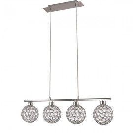 Lámpara 4 luces G9 átomo