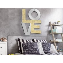 Espejo mural Love 60X80